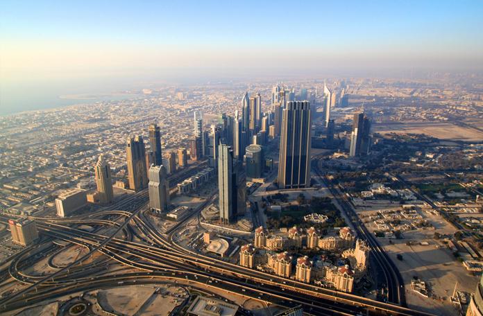 Dá pra ver Dubai em 360 graus
