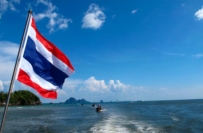 Visual único das ilhas da Tailândia