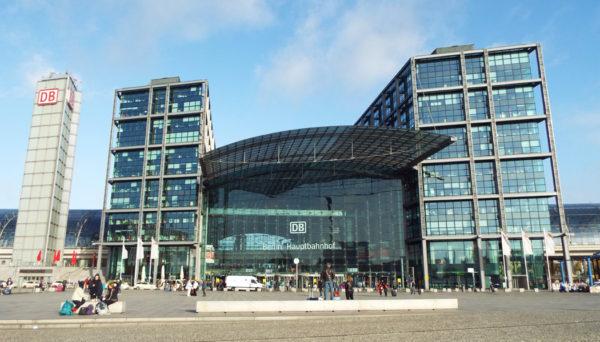 estação central de trens de Berlim