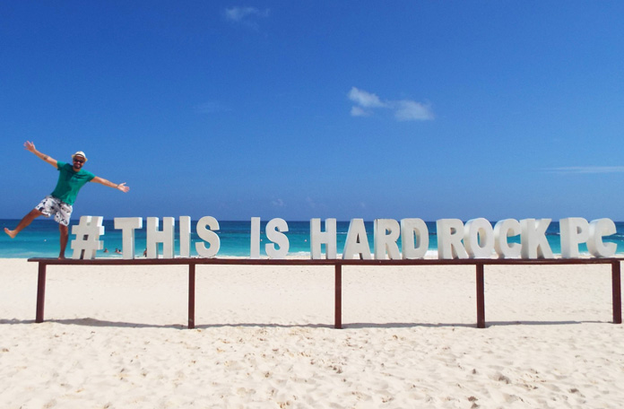 This is Hard Rock Punta Cana