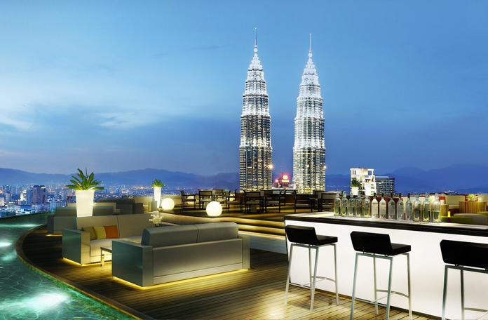 O que fazer em Kuala Lumpur: Sky bar