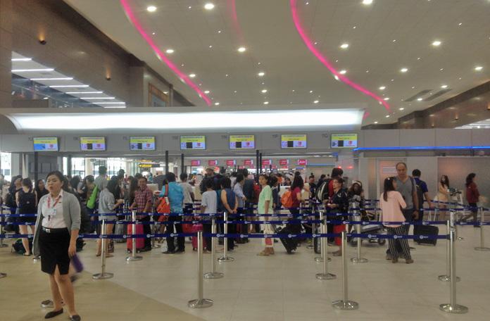 Checkin em Bangkok