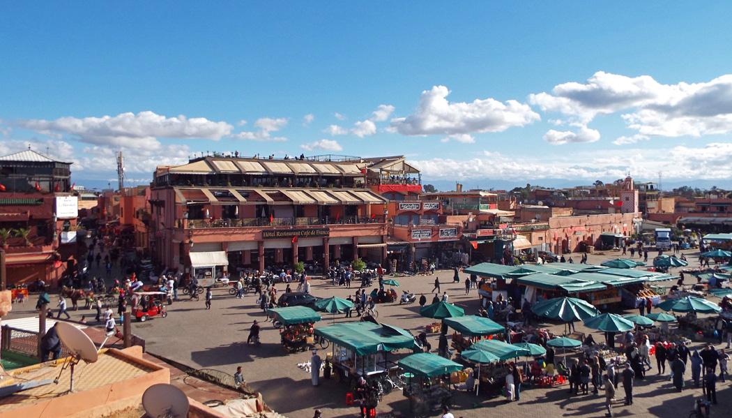 guia de sobrevivência no Marrocos