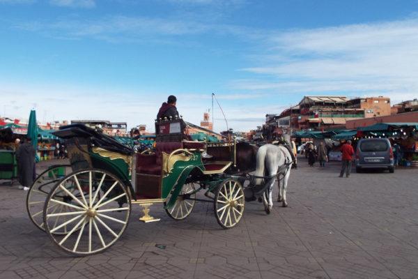 Como andar em Marrakech
