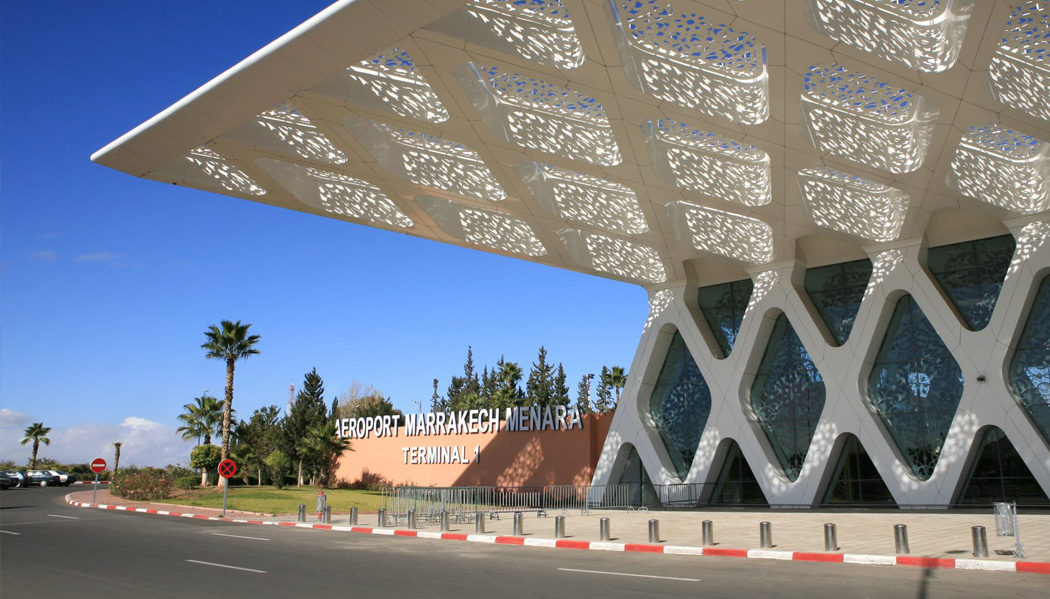 Chegando no Marrocos