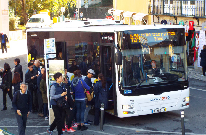 Como andar em Sintra: ônibus 434