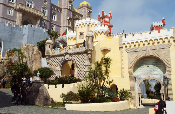 Entrada do palácio