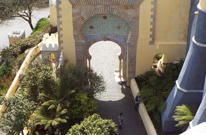 Referência árabe nesse portão