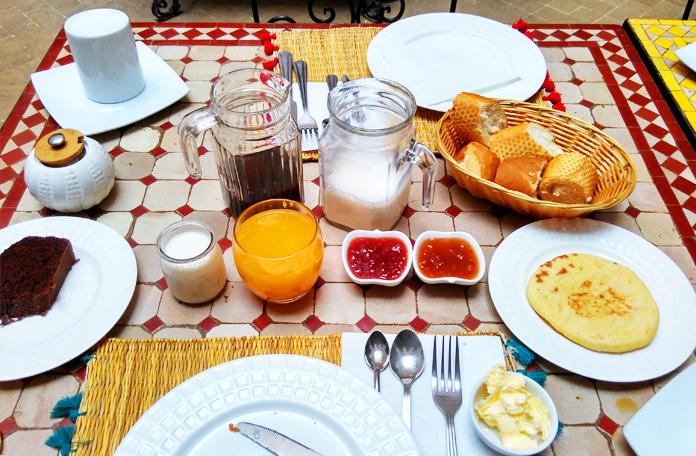 Café da manhã para 1 pessoa