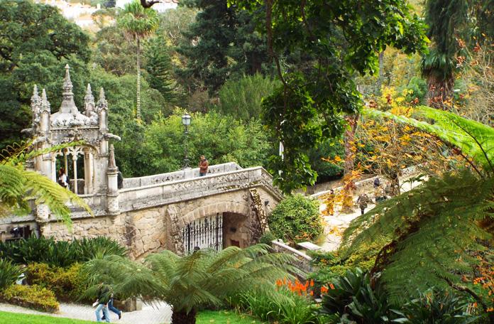 Jardim principal