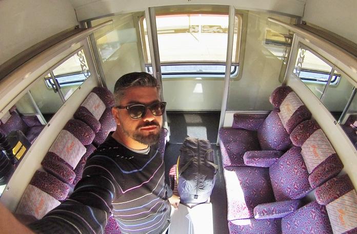 A primeira classe dos trens do Marrocos