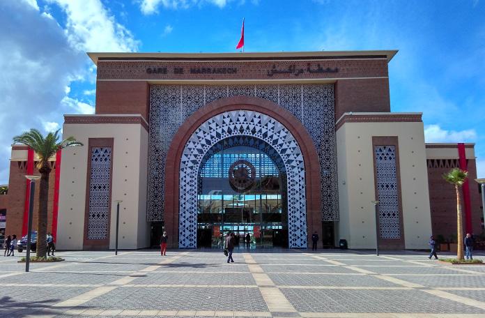 A estação de Marrakech