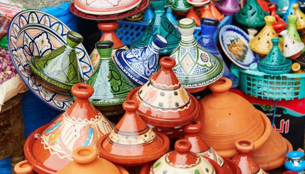 compras no Marrocos