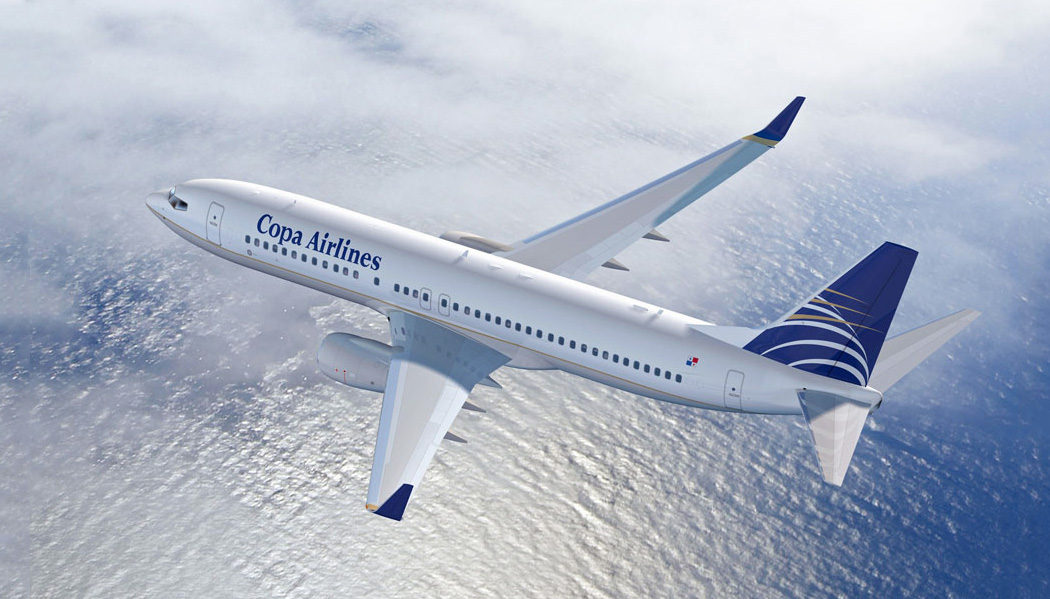 classe executiva da Copa Airlines