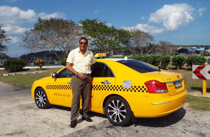 Taxista que me levou de Varadero a Cuba, uma figura o cara
