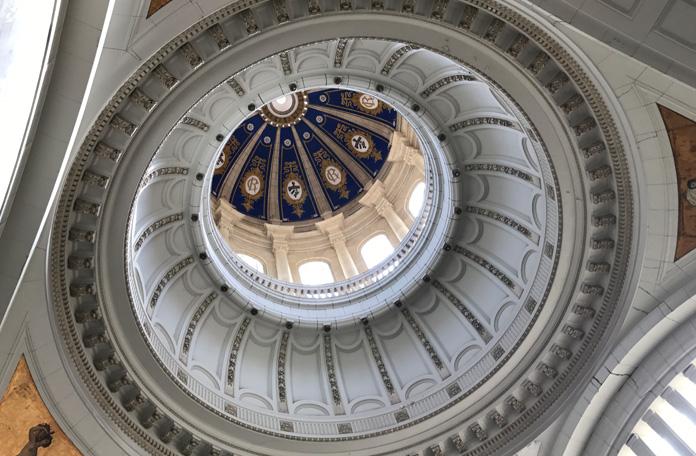 A cúpula absurdamente linda