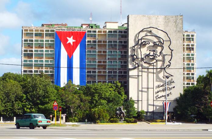 Principal cartão postal de Havana