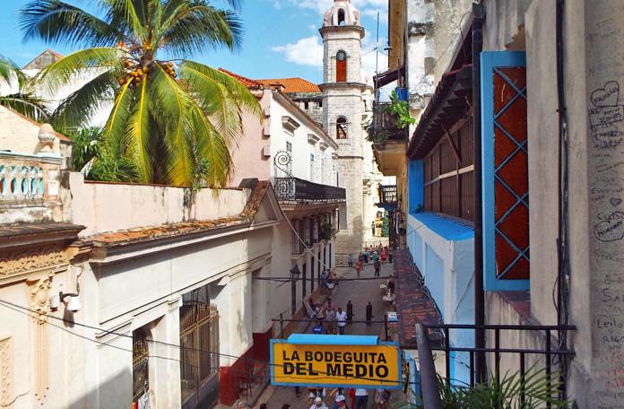 O bar mais famoso de Havana