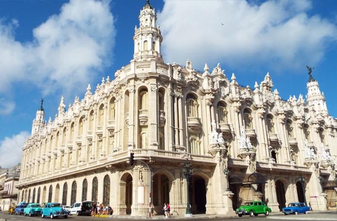 Pra mim, o prédio mais bonito de Havana