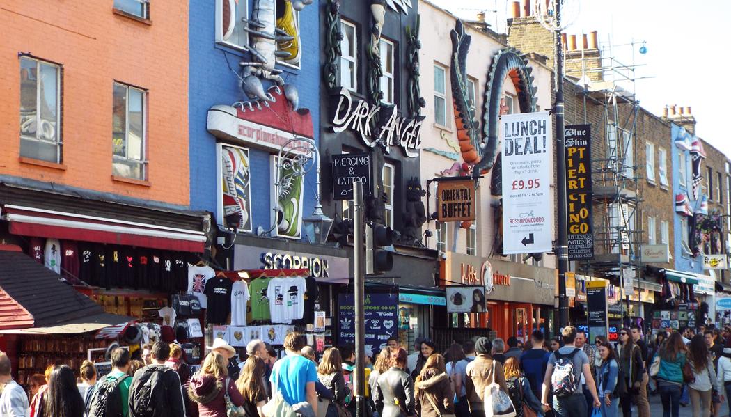 Camden Town O que fazer em Londres