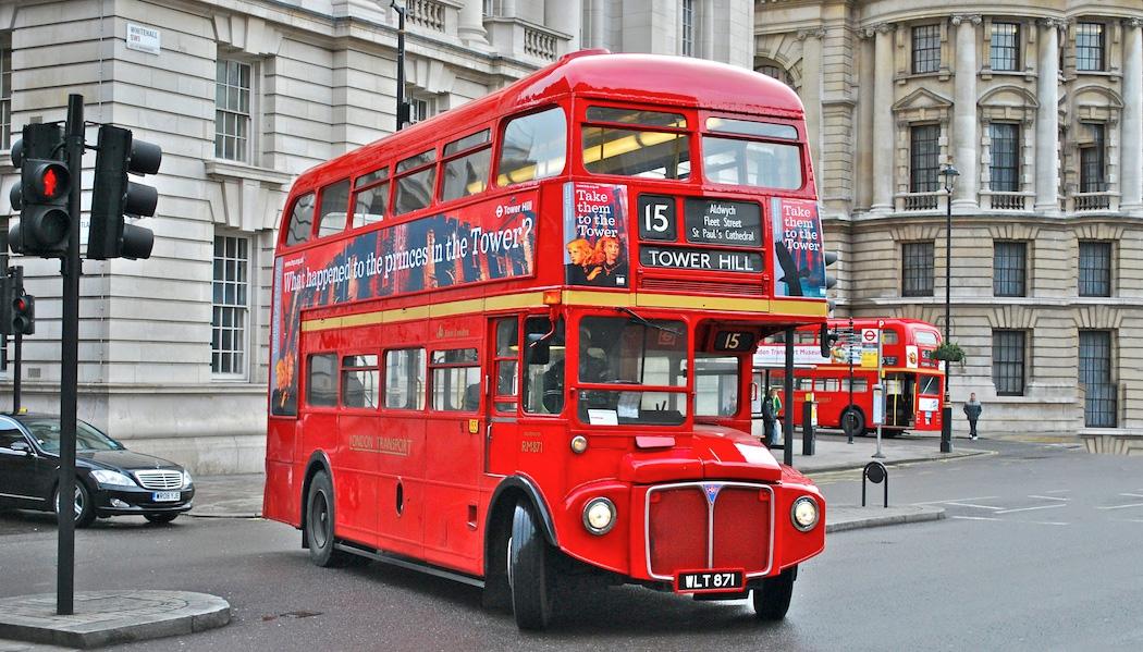ônibus de dois andares O que fazer em Londres