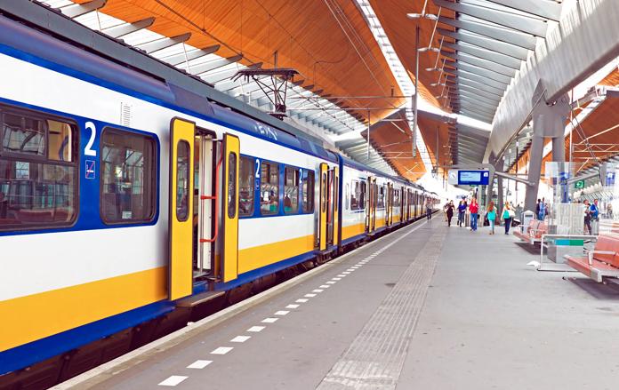 Viajar de trem na Holanda é muito prático e rápido