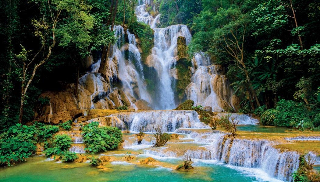 cachoeiras do Laos
