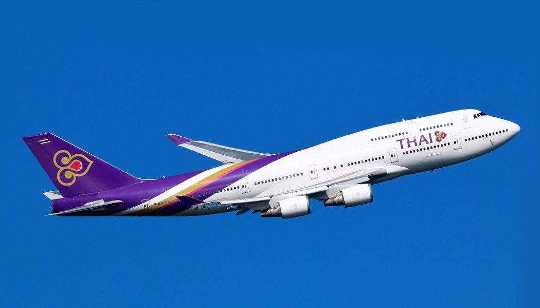Como é voar com a Thai Airways