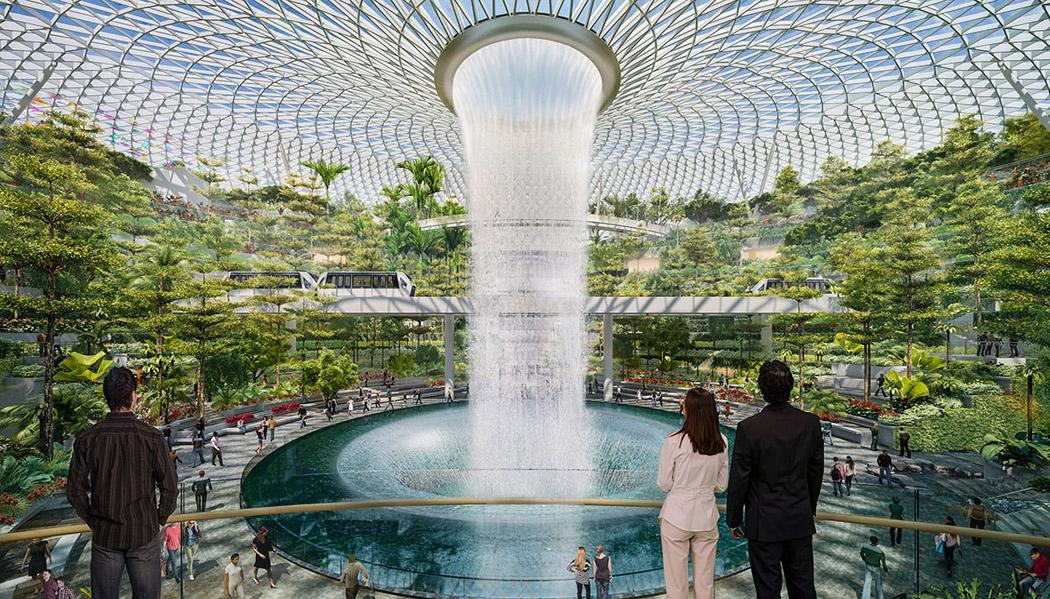 The Jewel: o novo aeroporto de Cingapura