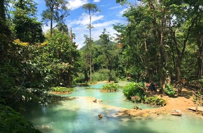 Cachoeiras de Luang Prabang