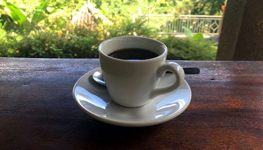 E o café polêmico