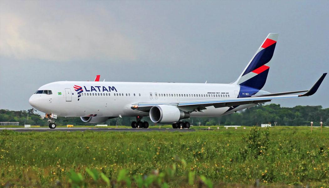 voar com a Latam Airlines para o México