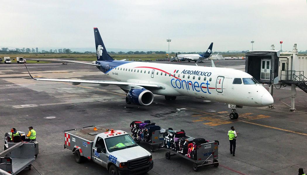 Como é voar com a AeroMexico Connect,