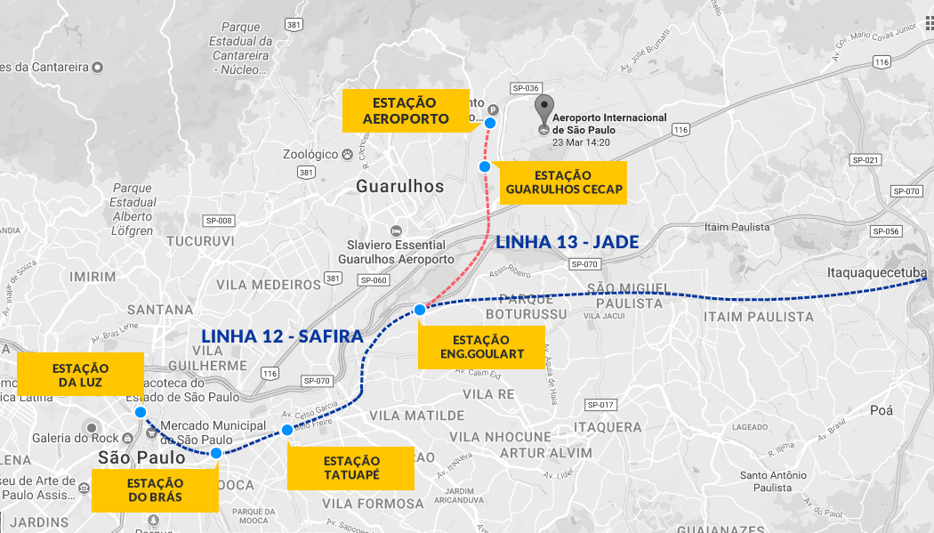 Сан-Пауло, аэропорт Guarulhos (GRU): терминалы, удобства, транзит