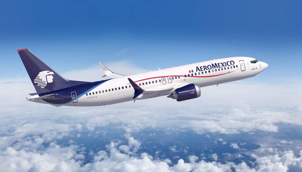 Como é voar na AeroMéxico