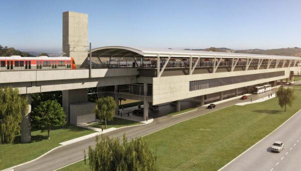 trem ligando o Aeroporto de Guarulhos a São Paulo