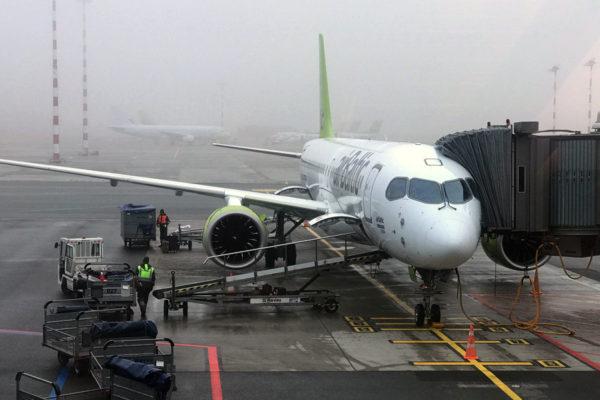 Como é voar com a Air Baltic