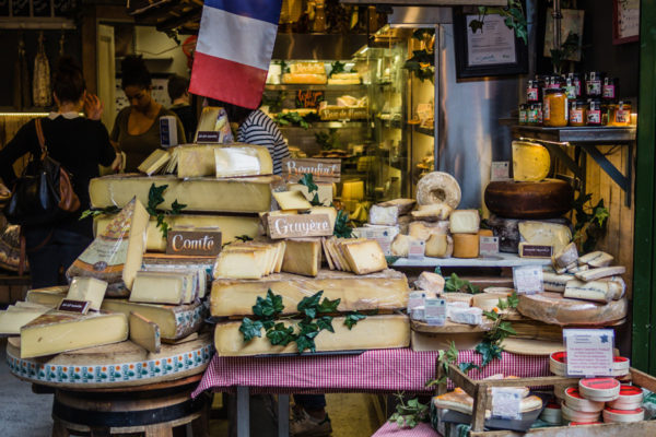 os queijos fedidos da França