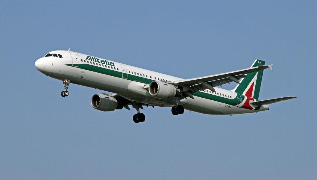 Como é voar com a Alitalia de Roma a Paris