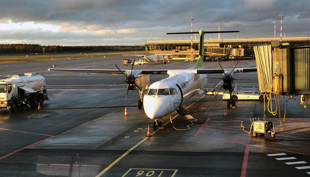 aeroporto de Riga até o centro