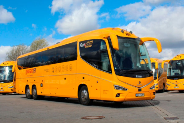 Viajar de ônibus na Europa