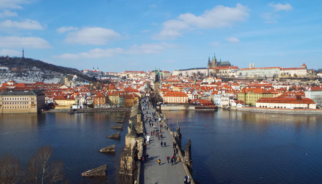 Ponte Carlos em Praga