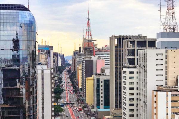 mirante do Sesc Avenida Paulista