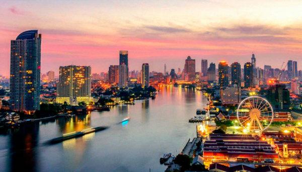 O melhor de Bangkok cidades mais visitadas