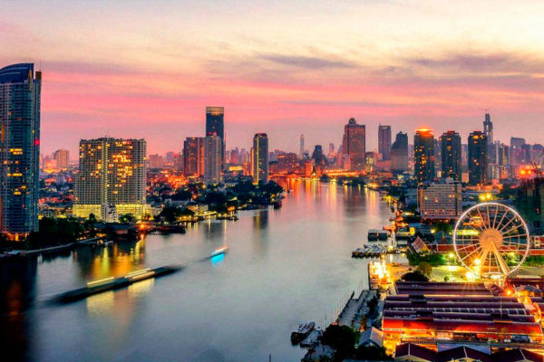O melhor de Bangkok cidades mais visitadas