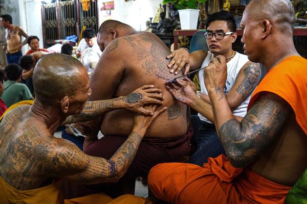 tatuagem Sak Yant