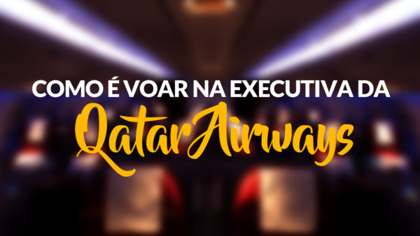 classe executiva da Qatar Airways