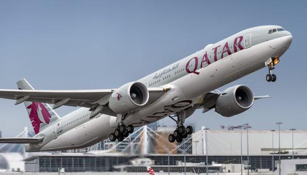 Qatar para Paris