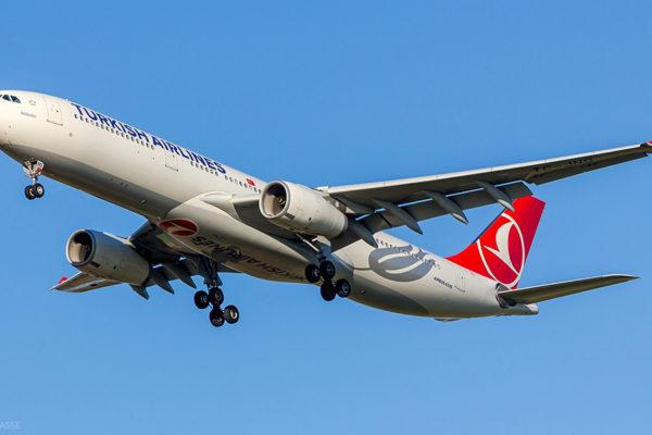 Turkish Airlines de Paris a Istambul