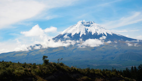 vulcões no Equador